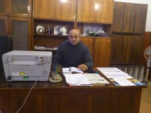 """Камен Димитров, кмет на с. Долни Цибър за шести пореден мандат: """"Лазбира се, че ще се кандидатирам отново. Пак ще ме изберат хората."""" Фото: Н.Генова/Евромегдан"""