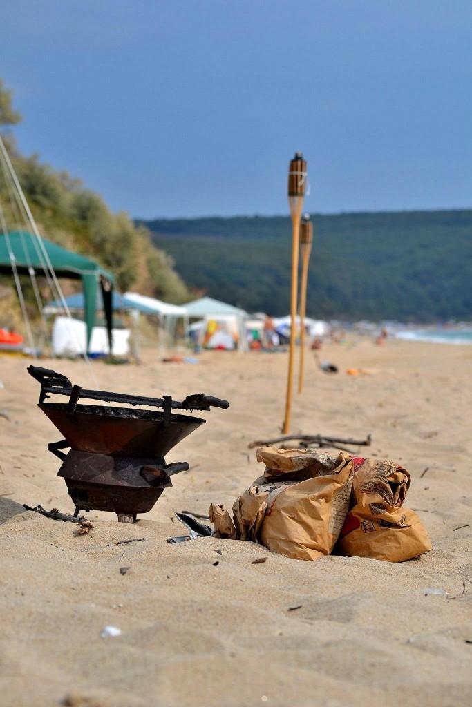 Не всеки огън на Карадере е опасен. Фото: Полина Антонова/Karadere Art