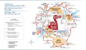 """Карта на комплекса """"Марица Изток"""""""