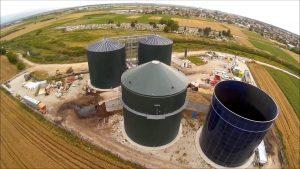 Централата на биомаса в с. Труд; Снимка: Село Труд - Екокатастрофа?