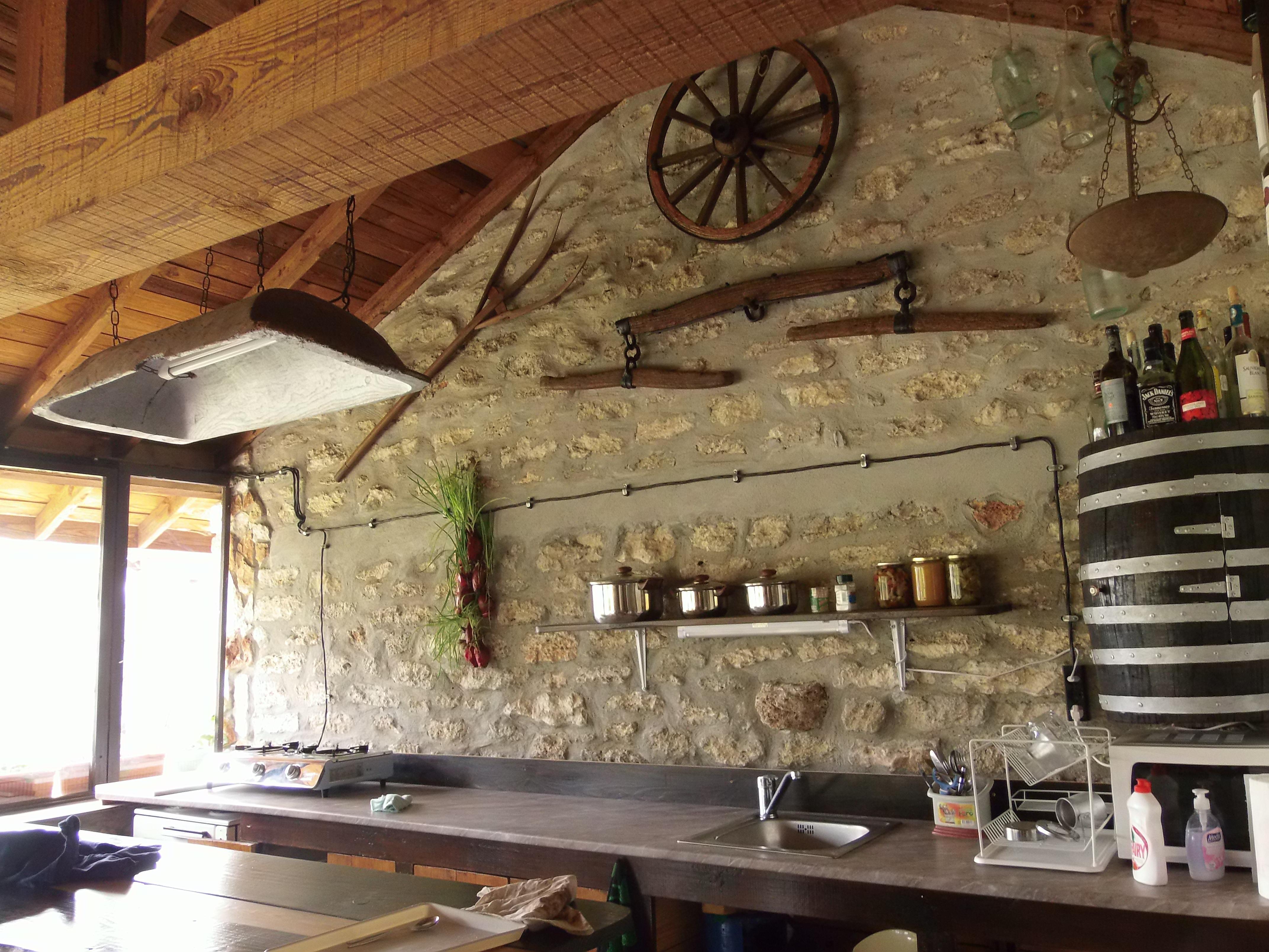 Някогашната плевня днес е част от къщата за гости в с. Българево. Снимка: Велина Барова / species.bluelink.net